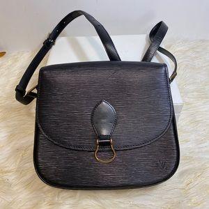 Louis Vuitton CrossBag Saint Cloud GM Black Epi